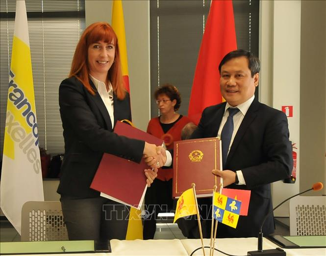 Vietnam and Belgium's region sign 25 cooperation projects